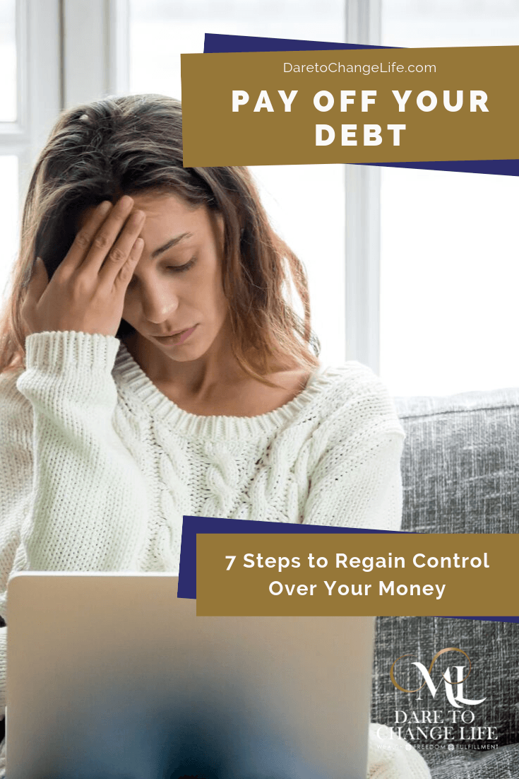 Regain Control of Your Money | Pay off your debt @daretochangelife Become financially powerful with Millen Livis.